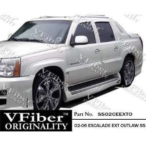 Cadillac Escalade Ext 02 06 4dr VFiber FRP Outlaw 4pc Side
