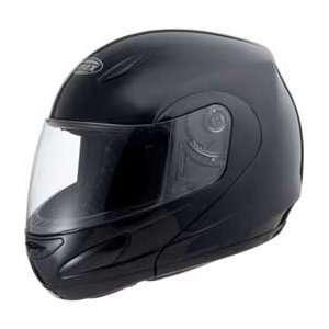 GM44 Full Face Street Helmet Flip Black XS   72 5040XS Automotive