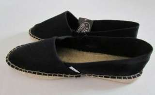 STEVE MADDEN MYLIE New Black Espadrilles Flats Shoes Womens 9