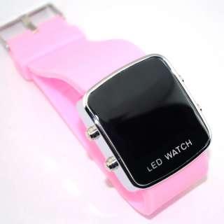 New Mens Womens Ladiess Sports Styles LED Digital Wrist Watches