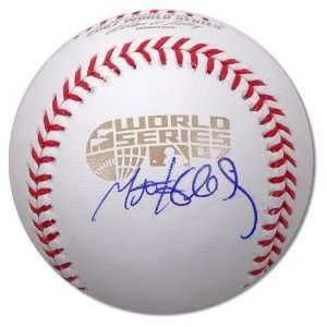 Matt Holliday Signed Baseball   2007 World Series Sports