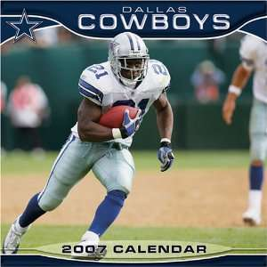 Dallas Cowboys 2007 Calendar (9781403869043): Books