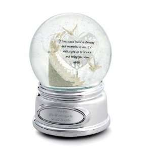 Personalized Memorial Stairway Snow Globe Gift