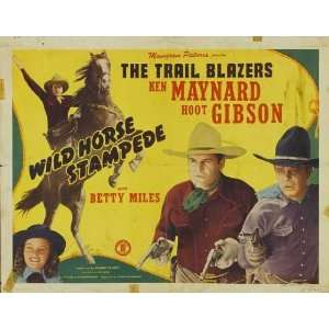 Hoot Gibson Betty Miles Bob Baker Ian Keith Si Jenks Robert McKenzie