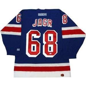 Jaromir Jagr Reebok New York Rangers Blue Replica Jersey