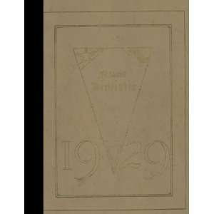 (Reprint) 1929 Yearbook University High School, Ann Arbor