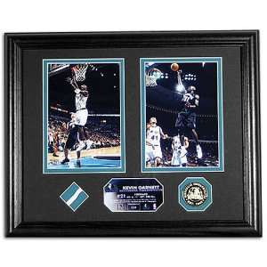 Timberwolves Highland Mint All Stars Photo w/ Game Used