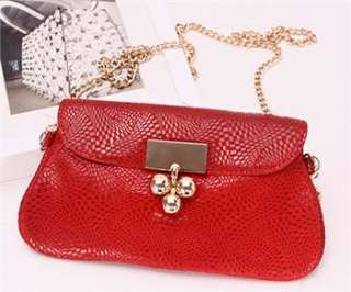 Womans Multi Color Real Leather Mini Handle Bag Purse Wallets Evening