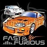 AWESOME FAST FURIOUS CARS SHIRT T SHIRT GIFT 149