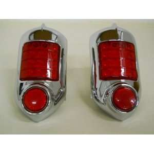 (2) 1951   1952 Chevy 16 LED Brake Stop Turn Tail Lights
