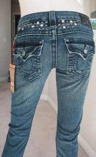 NWT True Religion Billy disco punk jeans dark drifter