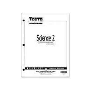 Science 2 Tests Answer Key (Christian Schools