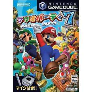 GC  MARIO PARTY 7  Nintendo Gamecube MARIO Japan Import