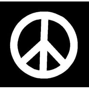 PEACE SIGN Vinyl Sticker/Decal (Love,Kindness)