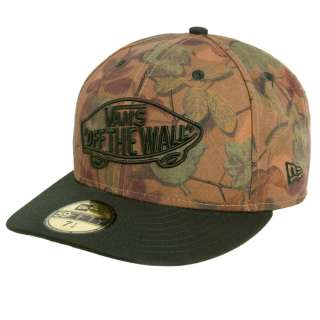 VANS SHOES HOME TEAM NEW ERA FITTED HAT 7 3/4 CAMO VOLCOM FOX NEFF
