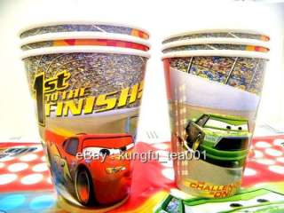 6pcs Disney Pixar Cars Mcqueen Birthday Party Paper Cup