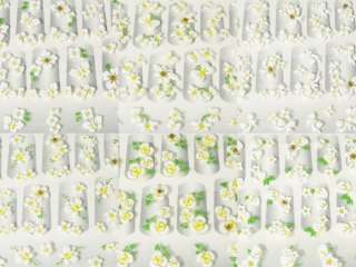 Nail Art Stickers/Decals Manicure Stones Flower 0ia