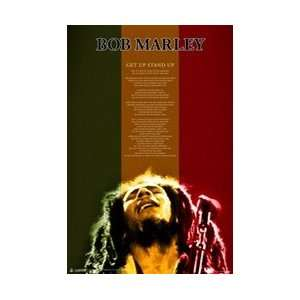 Bob Marley   Get Up Stand Poster Home & Kitchen