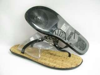 Michael Kors Charm Jelly Black Sandals Womens 9M NEW