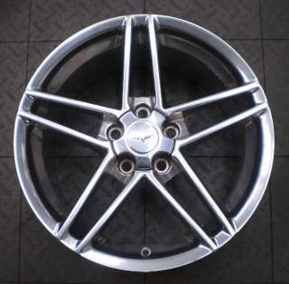 5090 5100 CHEVY CORVETTE 18 19 FACTORY WHEELS RIMS C6 Z06 OE (4