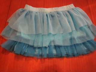 NWT One Step Up Tutu Skirt with Shorts Girls Size 4