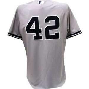 Mariano Rivera Jersey   NY Yankees #42 Road Grey Jersey