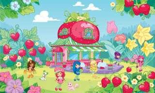 Strawberry Shortcake Wall Mural Wallpaper Room Decor