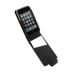 Pro Tec Executive Leather Case for iPhone 3GS   Black
