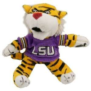 LSU Tigers 4.5 Plush Mascot: Sports & Outdoors