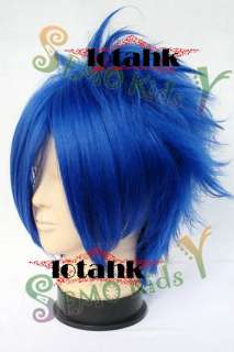 Vocaloid KAITO Cosplay WIG EMO