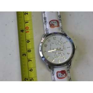 Hello Kitty Quartz Watch White Color