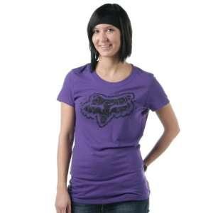 FOX Racing Juniors 54770 SHATTERED CREW Tee T Shirt Dark