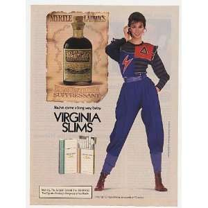 1982 Virginia Slims Cigarette Myrtle Ladwig Ambition