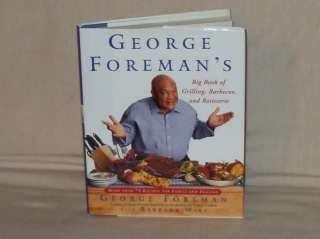 GEORGE FOREMANS BIG BOOK OF GRILLING,BBQ & ROTISSERIE 9780743200929