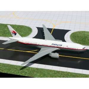 Gemini Jets Malaysia B777 200 Model Airplane Everything