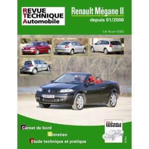 Megane II + CC 09/03  ESS 1,4/5 (9782726871652) Collectif Books