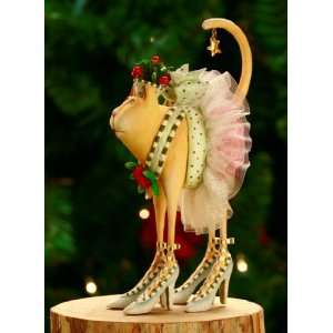 Patience Brewster Krinkles Buffy Cat Christmas Ornament