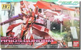 HG 1/144 GN 007 Arios Gundam Trans am Mode Model Kit 00 Gunpla