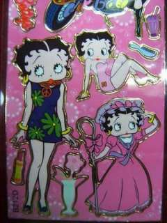 30 sheets of Betty Boop sticker (B212) ABB0115 wholesale