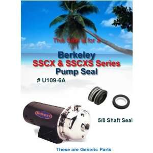 Berkeley SSCX & SSCXS Series Pump Shaft Seal Everything