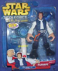Star Wars Playskool Jedi Force HAN SOLO New +