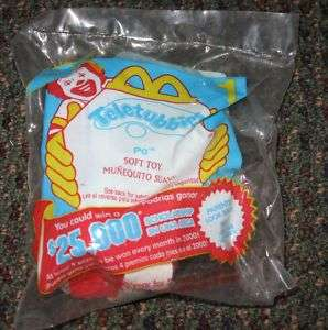 2000 Teletubbies McDonalds Happy Meal Toy Po #1