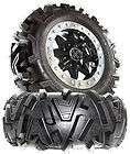 MSA M12 Diesel 14 Black ATV Wheels On 26 Moto MTC Tires Polaris