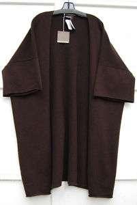 NWT Eskandar MOUSTACHE 100% Cashmere Long Cardigan O/S