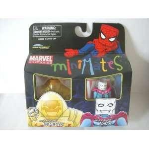 Marvel MiniMates Exclusive Mini Figure 2Pack Nemesis Morph