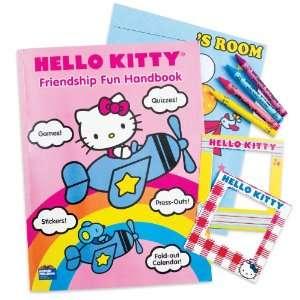Hello Kitty Friendship Fun Handbooks and Crayons (8 count
