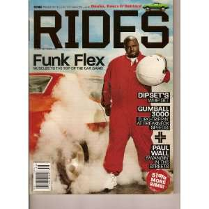 King Presents the Illest Car Magazine Ever! RIDES (Funk