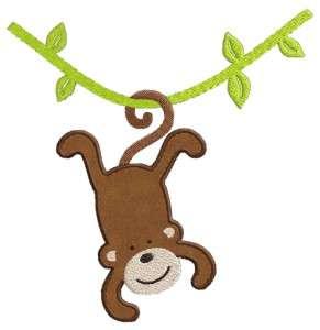 Ravelry: Monkey Applique pattern by Teri Heathcote