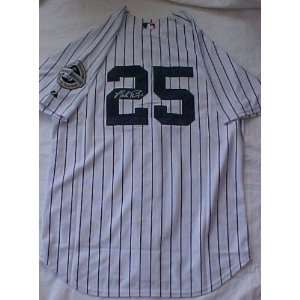 Mark Teixeira Hand Signed Autographed New York Yankees Official