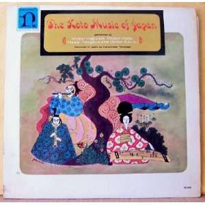 Koto Music of Japan (LP) Hatta, Kitagawa and Kikusui Hagiwara Music